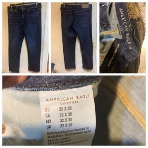 American Eagle - Relaxed Straight Jeans - 32x30